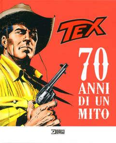 Copertina TEX 70 ANNI DI UN MITO n. - TEX - 70 ANNI DI UN MITO, BONELLI EDITORE LIBRERIA