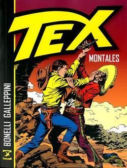 Copertina TEX MONTALES n. - MONTALES, BONELLI EDITORE LIBRERIA