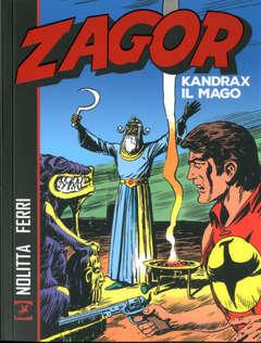 Copertina ZAGOR KANDRAX IL MAGO n. - ZAGOR - KANDRAX IL MAGO, BONELLI EDITORE LIBRERIA