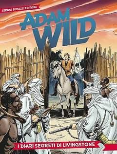 Copertina ADAM WILD n.3 - I diari segreti di Livingstone, BONELLI EDITORE