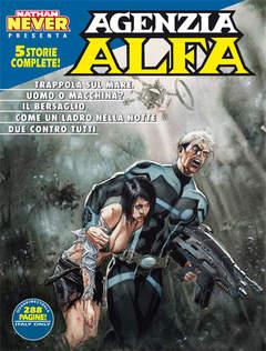 Copertina AGENZIA ALFA n.28 - AGENZIA ALFA, BONELLI EDITORE