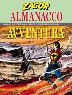 Copertina ALMANACCO AVVENTURA n.2001 - ZAGOR, BONELLI EDITORE