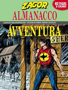 Copertina ALMANACCO AVVENTURA n.2008 - ZAGOR, BONELLI EDITORE