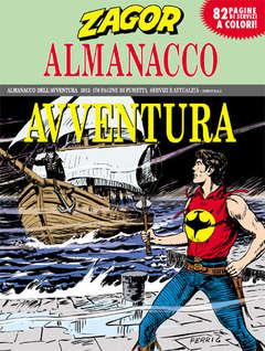 Copertina ALMANACCO AVVENTURA n.2012 - ZAGOR, BONELLI EDITORE