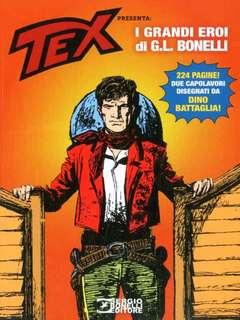 Copertina AVVENTURA MAGAZINE n.8 - 2019 TEX PRESENTA: I GRANDI EROI DI G.L. BONELLI, BONELLI EDITORE