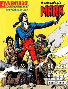 Copertina AVVENTURA MAGAZINE n.3 - 50 ANNI DA EROE, 2 capolavori a fumetti della ESSEGESSE, BONELLI EDITORE