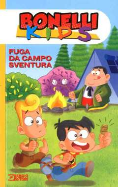 Copertina BONELLI KIDS n.1 - FUGA DA CAMPO SVENTURA, BONELLI EDITORE