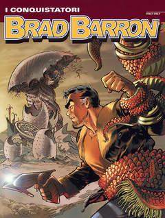 Copertina BRAD BARRON n.4 - I conquistatori, BONELLI EDITORE