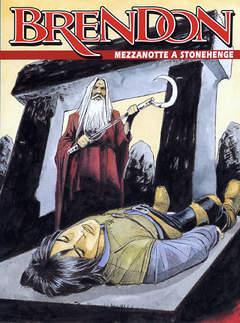 Copertina BRENDON n.38 - Mezzanotte a Stonehenge, BONELLI EDITORE