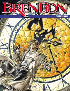 Copertina BRENDON n.66 - Timerider, BONELLI EDITORE