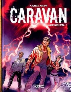 Copertina CARAVAN OMNIBUS (m2) n.1 - CARAVAN OMNIBUS, BONELLI EDITORE