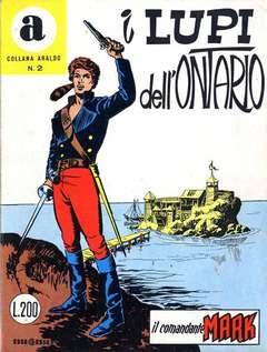 Copertina COLLANA ARALDO n.2 - I LUPI DELL'ONTARIO, BONELLI EDITORE