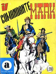Copertina COLLANA ARALDO n.1 - IL COMANDANTE MARK, BONELLI EDITORE
