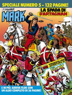 Copertina COMANDANTE MARK SPECIALE n.5 - La spada di d'Artagnan, BONELLI EDITORE