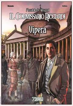 Copertina COMMISSARIO RICCIARDI VIPERA n. - IL COMMISSARIO RICCIARDI VIPERA, BONELLI EDITORE