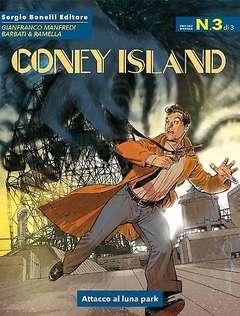 Copertina CONEY ISLAND n.3 - Attacco al luna park, BONELLI EDITORE