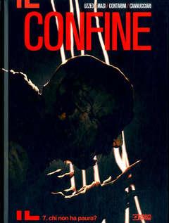 Copertina CONFINE n.7 - CHI NON HA PAURA, BONELLI EDITORE