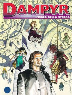 Copertina DAMPYR n.13 - L'isola della strega, BONELLI EDITORE