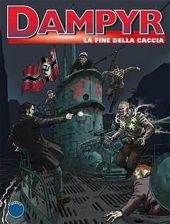 Copertina DAMPYR n.165 - LA FINE DELLA CACCIA, BONELLI EDITORE