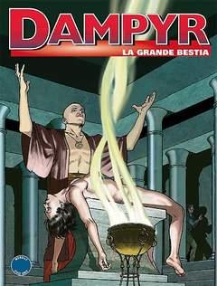 Copertina DAMPYR n.192 - La grande bestia, BONELLI EDITORE
