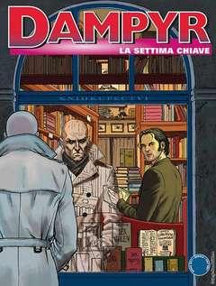 Copertina DAMPYR n.205 - LA SETTIMA CHIAVE, BONELLI EDITORE