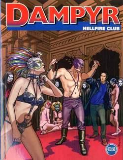 Copertina DAMPYR n.226 - Hellfire Club, BONELLI EDITORE