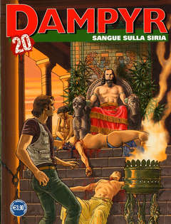 Copertina DAMPYR n.245 - SANGUE SULLA SIRIA, BONELLI EDITORE