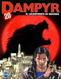 Copertina DAMPYR n.248 - IL LICANTROPO DI MATERA, BONELLI EDITORE