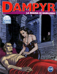 Copertina DAMPYR n.252 - LA REGINA DI BABILONIA, BONELLI EDITORE