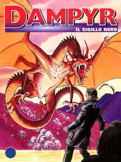 Copertina DAMPYR n.44 - Il Sigillo Nero, BONELLI EDITORE