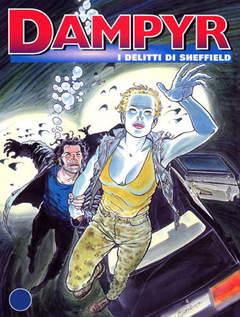 Copertina DAMPYR n.47 - I delitti di Sheffield, BONELLI EDITORE