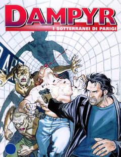 Copertina DAMPYR n.48 - I sotterranei di Parigi, BONELLI EDITORE