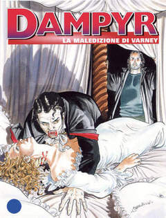 Copertina DAMPYR n.52 - La maledizione di Varney, BONELLI EDITORE