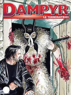 Copertina DAMPYR n.59 - Le terminatrici, BONELLI EDITORE