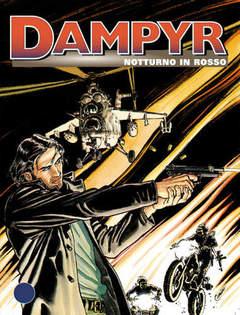 Copertina DAMPYR n.4 - Notturno in rosso, BONELLI EDITORE