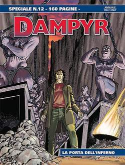 Copertina DAMPYR SPECIALE n.12 - LA PORTA DELL'INFERNO, BONELLI EDITORE