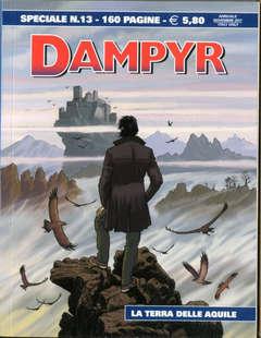 Copertina DAMPYR SPECIALE n.13 - LA TERRA DELLE AQUILE, BONELLI EDITORE