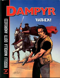 Copertina DAMPYR VATHEK! n. - DAMPYR VATHEK!, BONELLI EDITORE