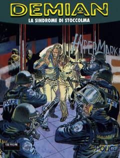 Copertina DEMIAN n.6 - LA SINDROME DI STOCCOLMA, BONELLI EDITORE