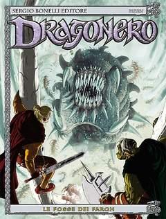 Copertina DRAGONERO n.10 - LE FOSSE DEI FARGH, BONELLI EDITORE