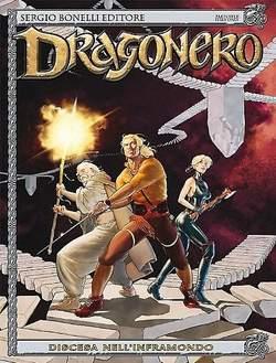 Copertina DRAGONERO n.16 - Discesa nell'Inframondo, BONELLI EDITORE
