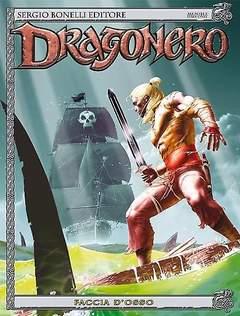 Copertina DRAGONERO n.20 - Faccia d'osso, BONELLI EDITORE