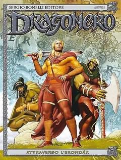 Copertina DRAGONERO n.24 - Attraverso l'Erondár, BONELLI EDITORE