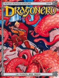 Copertina DRAGONERO n.25 - La porta sul buio, BONELLI EDITORE