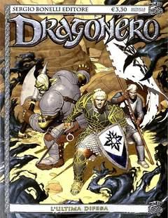 Copertina DRAGONERO n.33 - L'ultima difesa, BONELLI EDITORE
