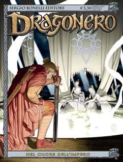 Copertina DRAGONERO n.46 - L'IMPERATORE SPETTRO, BONELLI EDITORE