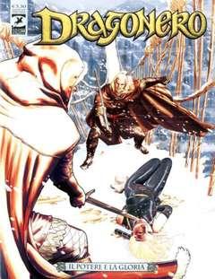 Copertina DRAGONERO n.68 - Il potere e la gloria, BONELLI EDITORE