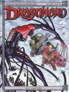 Copertina DRAGONERO n.3 - Gli Impuri, BONELLI EDITORE