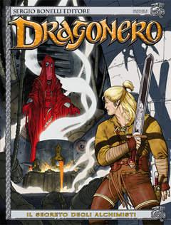 Copertina DRAGONERO n.2 - Il segreto degli alchimisti, BONELLI EDITORE