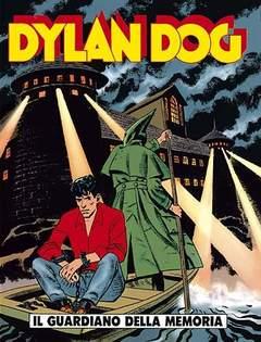 Copertina DYLAN DOG n.108 - Il guardiano della memoria, BONELLI EDITORE